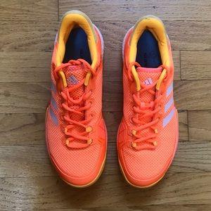 Adidas Barricade Boost mens size 7.5 w/Superfeet